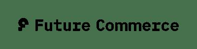 Future Commerce Logo Horizontal Black